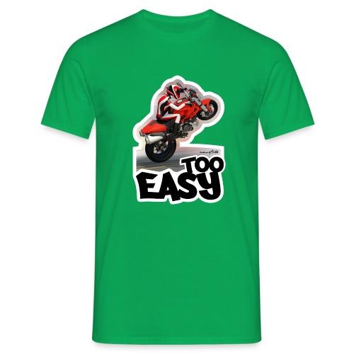 Ducati Monster Wheelie A - Camiseta hombre