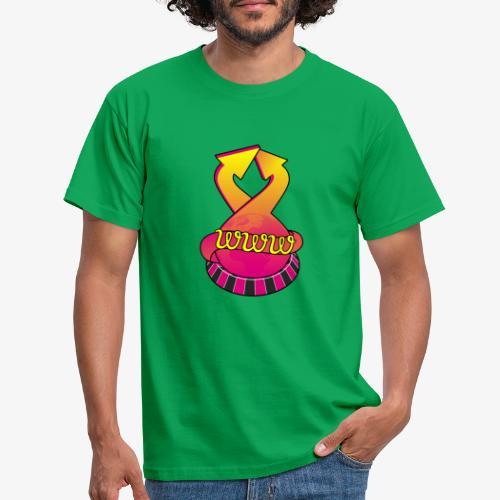 UrlRoulette logo - Men's T-Shirt