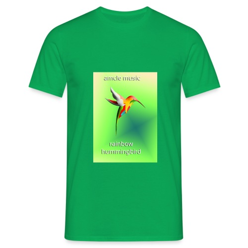 rainbow hummingbird - Männer T-Shirt