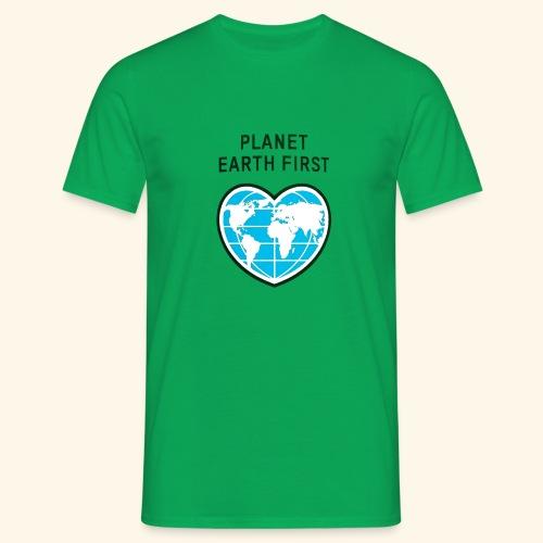 PlanetFirst - Männer T-Shirt