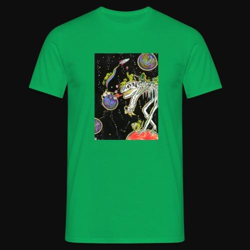 Destruction d'astéroïde - T-shirt Homme