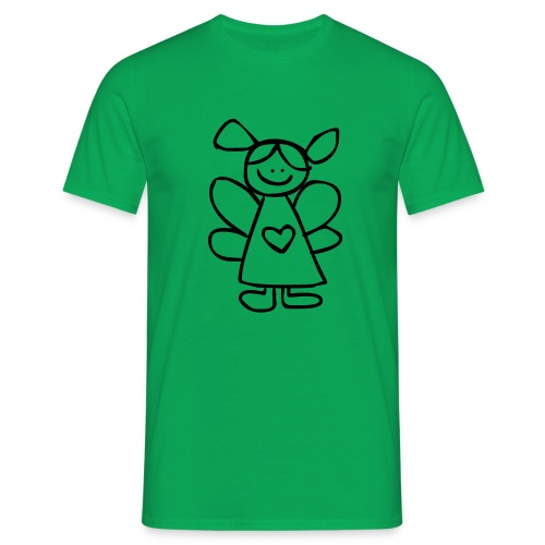 belinda's engeltje - Mannen T-shirt