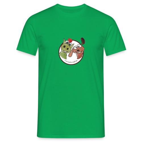 Kollin Kläff - Hund und Drache Blitz - Männer T-Shirt