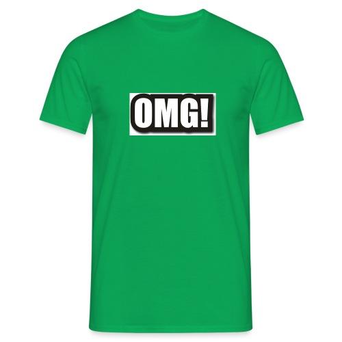 large wordprops omg - T-shirt herr