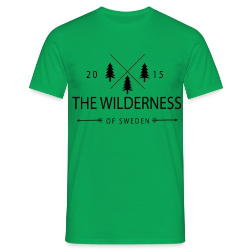 The Wilderness Of Sweden - T-shirt herr