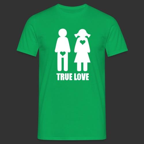 True Love - T-shirt herr