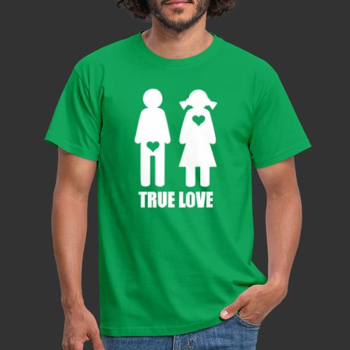 True Love - T-shirt herr