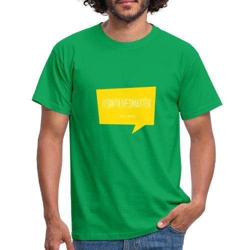 Sinti Lives Matter - Männer T-Shirt