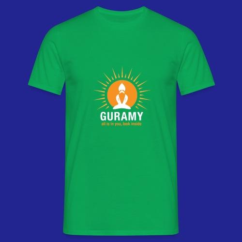 final white con scritta CORRETTO - Men's T-Shirt