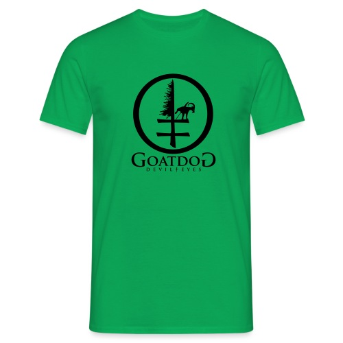 goatdog devil eyes - Männer T-Shirt