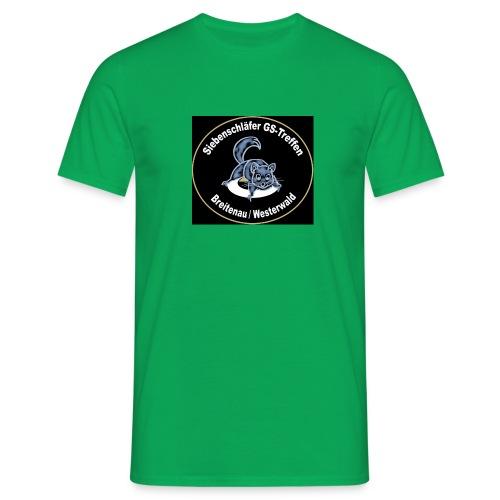 Sieben2 gif - Männer T-Shirt