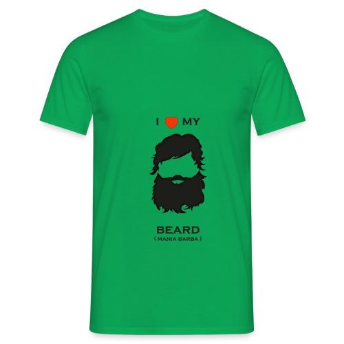 ilovemybeard png - Maglietta da uomo