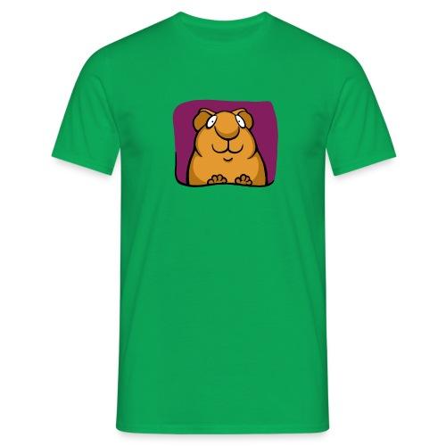 Smiley Piggy - Männer T-Shirt