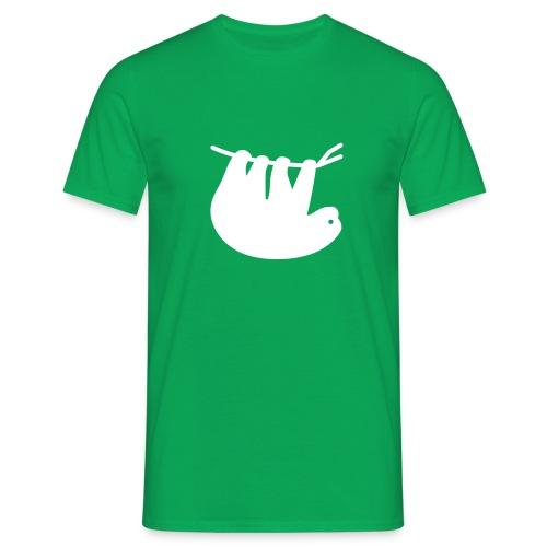 Lazy Slothbert - Männer T-Shirt