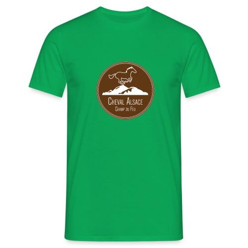 cheval alsace brun - T-shirt Homme