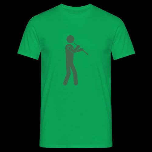 Oboist gruen - Männer T-Shirt