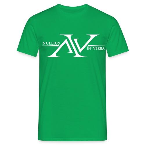Nullius In Verba Logo - Men's T-Shirt