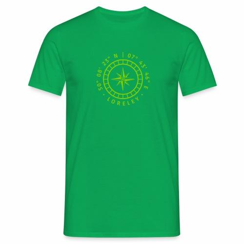 Kompass – Loreley - Männer T-Shirt