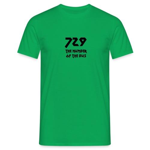 729 grande nero - Maglietta da uomo