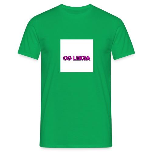 Miesten Huppari OG Leksa - Miesten t-paita