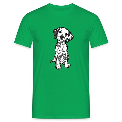 Dalmatian Grey Spots - Men's T-Shirt
