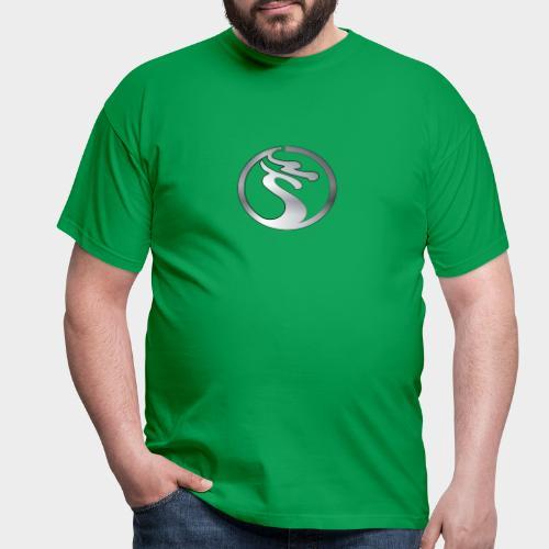 LOGO DRAGON PLATA - Camiseta hombre