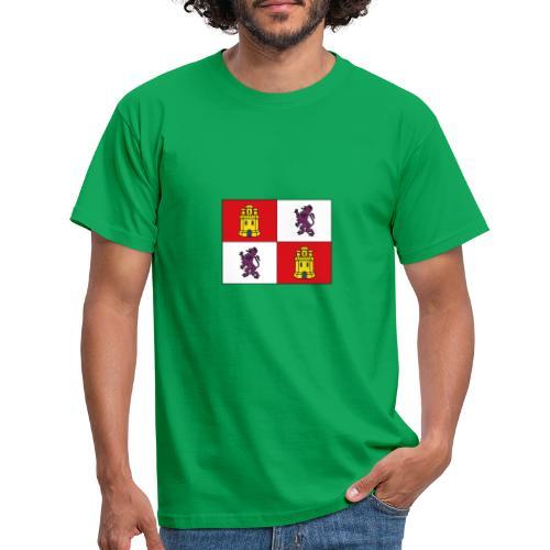 ESCUDO CASTILLA Y LEON - Camiseta hombre