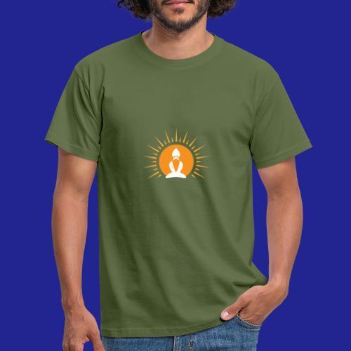 Guramylyfe logo white no text - Men's T-Shirt