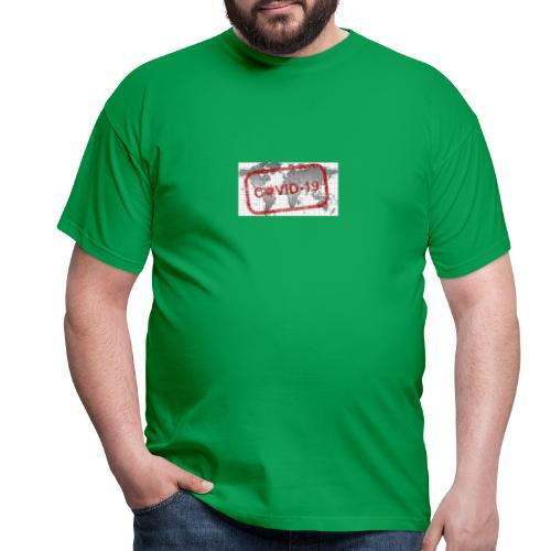 covid 19 - Männer T-Shirt