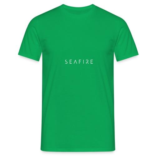 Seafire logo WHITE - Mannen T-shirt
