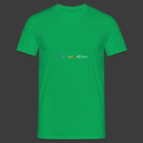 rainbow for dark background - Men's T-Shirt
