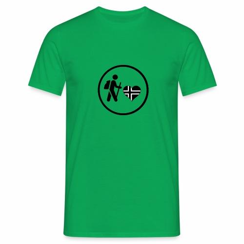 Norwayhike - T-skjorte for menn