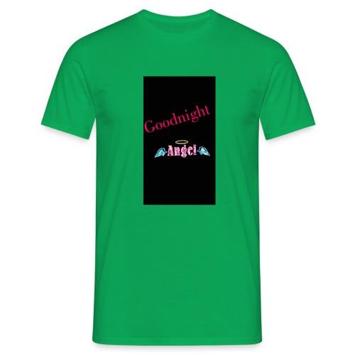 goodnight Angel Snapchat - Men's T-Shirt