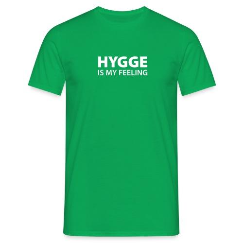 Hygge is my Feeling Glück Zufriedenheit It-Word - Men's T-Shirt