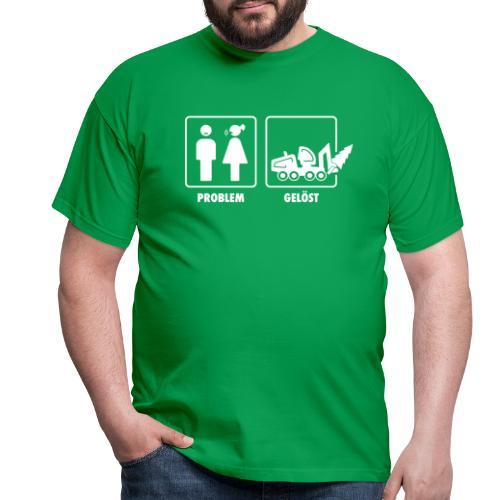 Forst | Problem gelöst weiss - Männer T-Shirt