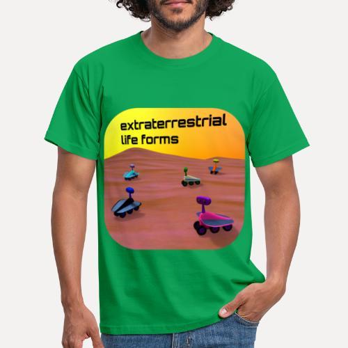 Leben auf dem Mars - Men's T-Shirt
