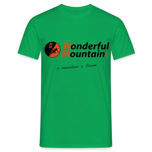WM SLOGAN - Camiseta hombre
