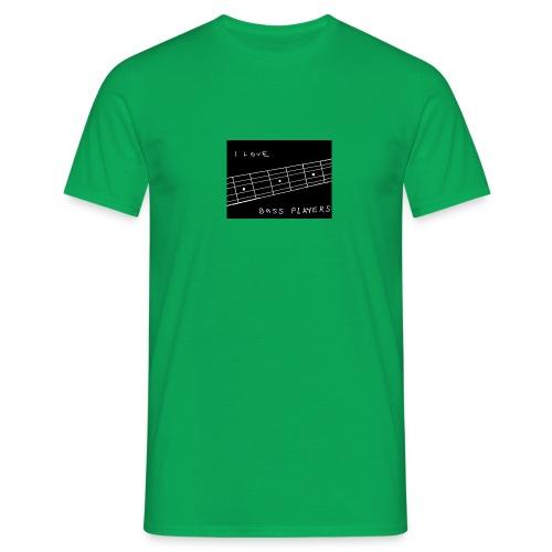 I Love Bass Players - Men's T-Shirt