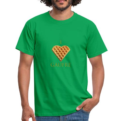 i love gaufre - T-shirt Homme