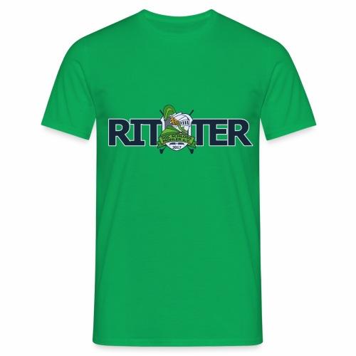 ritter_schriftzug_01 - Männer T-Shirt