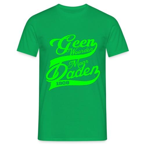 Geen woorden groen png - Mannen T-shirt