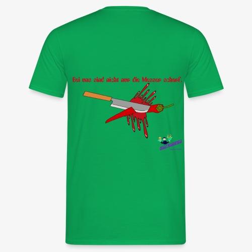 Messer Shirt - Männer T-Shirt