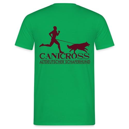 canicross_Man_altdeutsche - T-shirt Homme