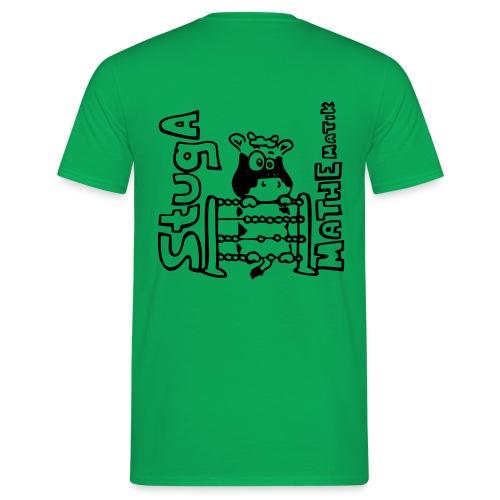 StugA Mathe Logo - Männer T-Shirt