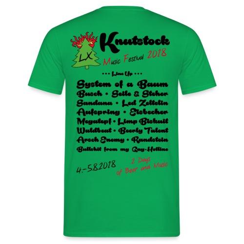 Knutstock LineUp2 - Männer T-Shirt