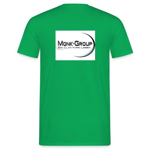 monk group bild vergrößer - Männer T-Shirt