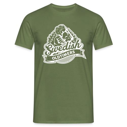 swedisholdtimers logo - T-shirt herr