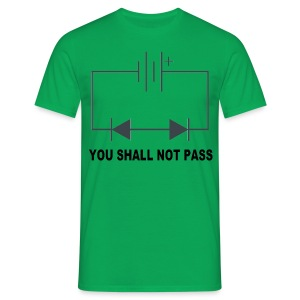 You shall not pass! - Mannen T-shirt