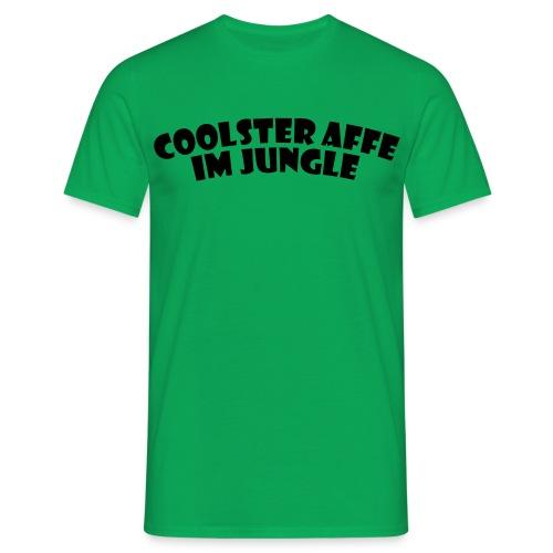 Coolster Affe im Jungle - Männer T-Shirt