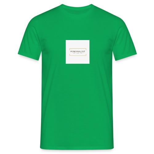 Minimalist - T-shirt Homme